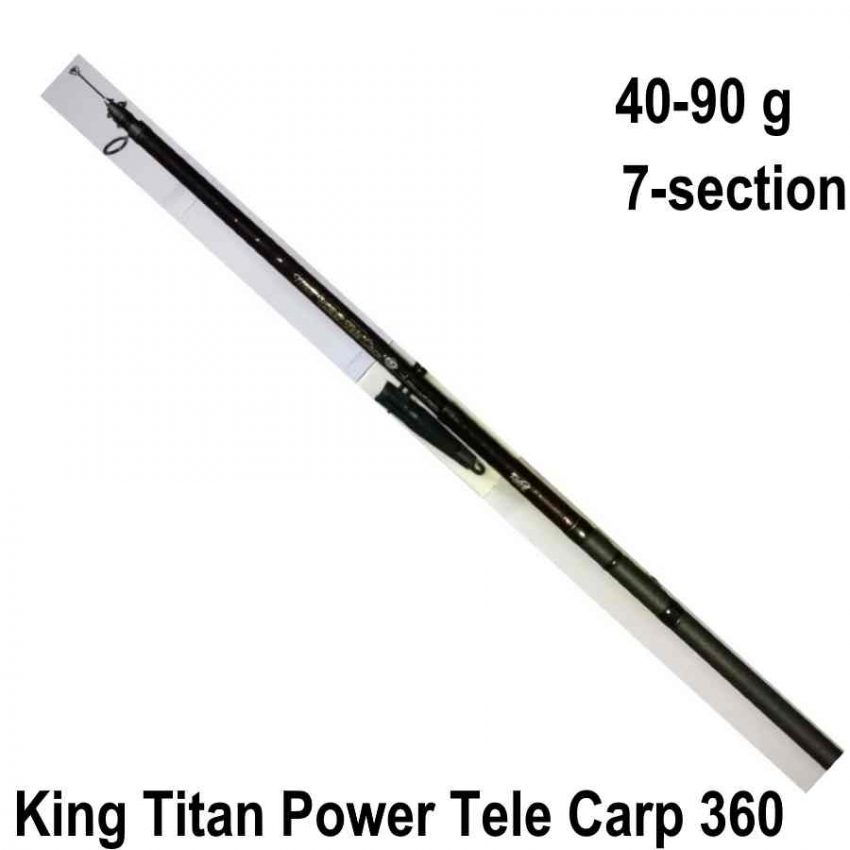 King Titan Power Tele Carp 360 meškerė