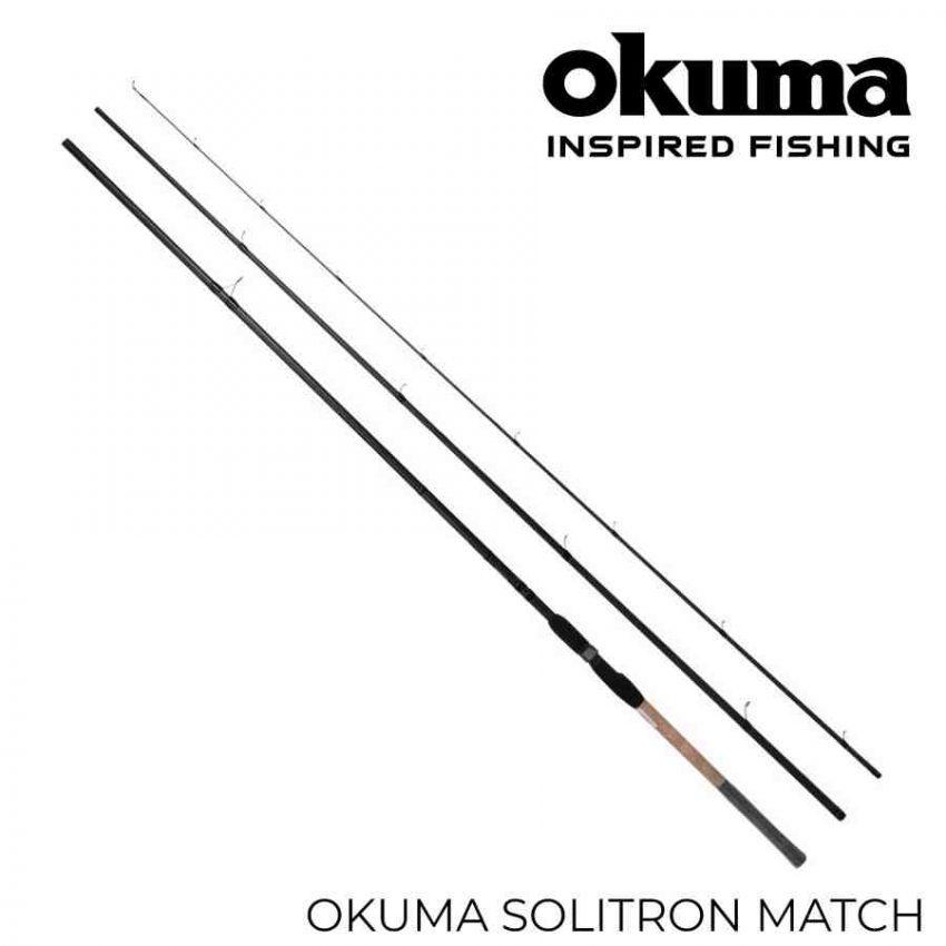 Okuma Solitron match 390 plūdinė