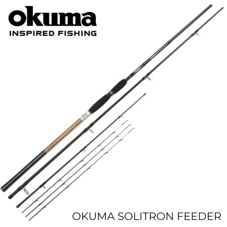 Okuma solitron feeder dugninė meškerė