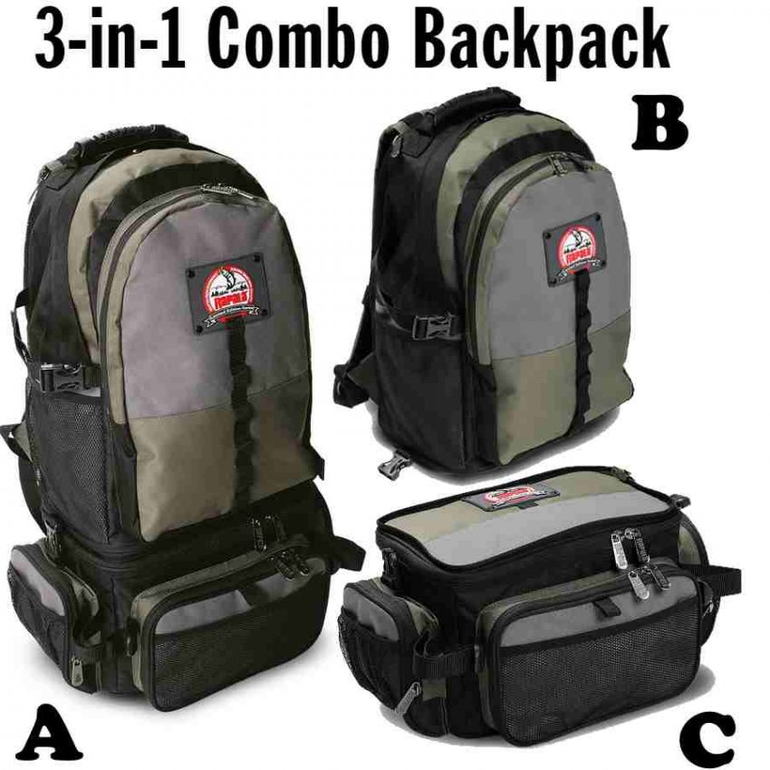 Kuprinė Rapala 3-in-1 Combo Backpack