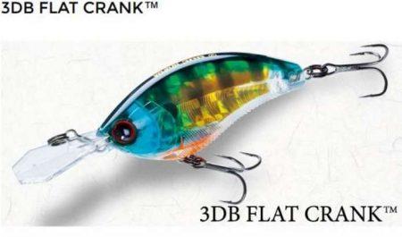 Yo-Zuri 3DB Flat Crank vobleris