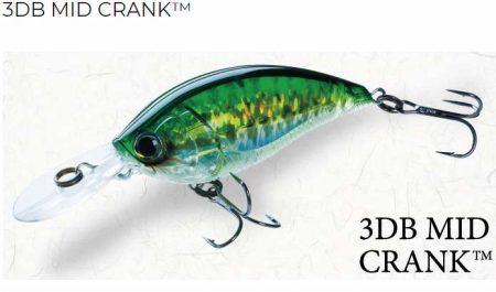 Yo-Zuri 3DB Mid Crank vobleris