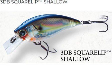 Yo-Zuri 3DB squarelip shallow vobleris