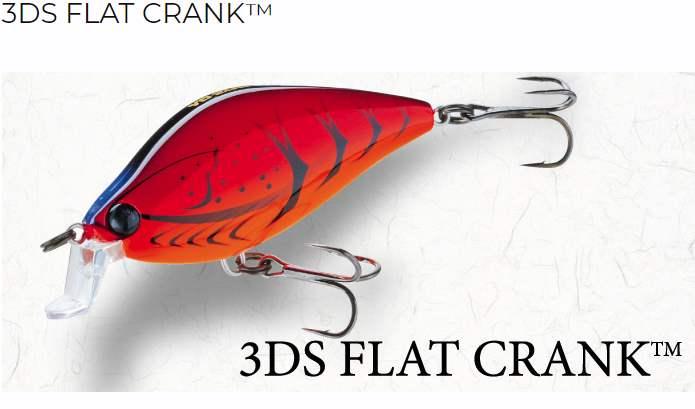 Yo-Zuri 3DS Flat Crank vobleris