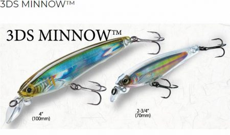 Yo-zuri 3DS Minnow vobleris