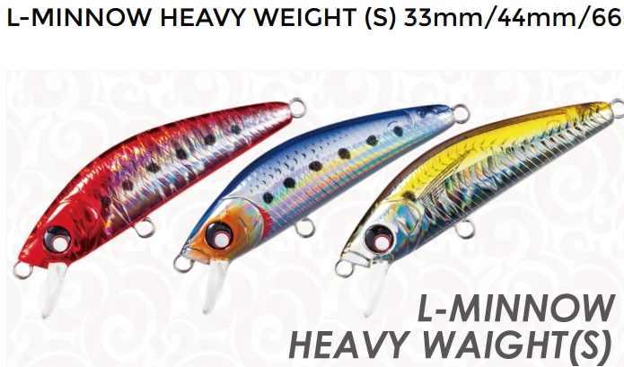 Yo-zuri L-Minnow Heavy Weight vobleris