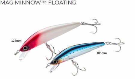 Yo-Zuri Mag Minnow floating vobleris