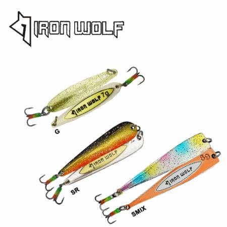 Blizgutės Iron Wolf