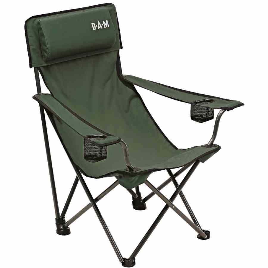 Cheap Outdoor Folding Chairs.Kėdė Dam Foldable Chair With Back Padded