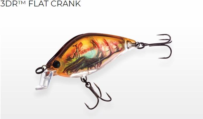 Yo-Zuri 3DR Flat Crank vobleris