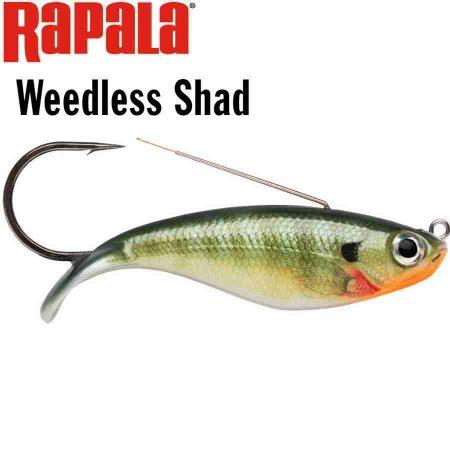 Rapala Weedless Shad pagrindinis
