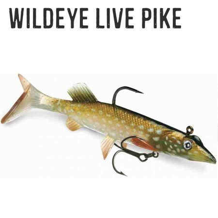 Storm Wildeye Live Pike guminis masalas pagrindinis