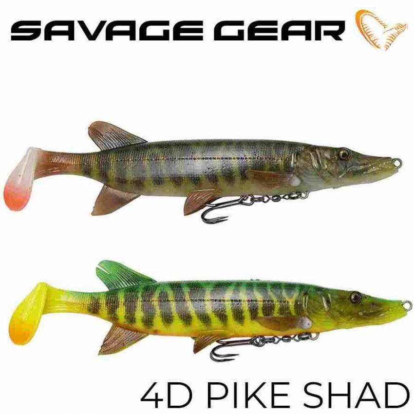 Savage Gear 4D Pike Shad