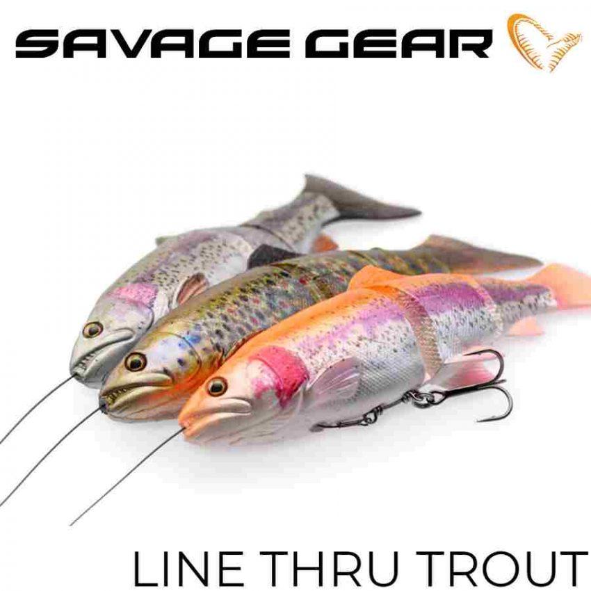 Savage Gear Line Thru Trout
