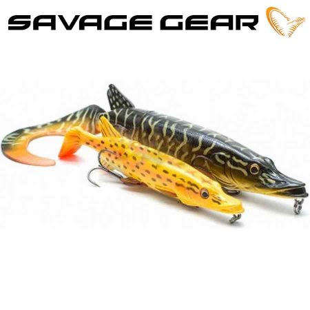 Savage Gear guminiai masalai