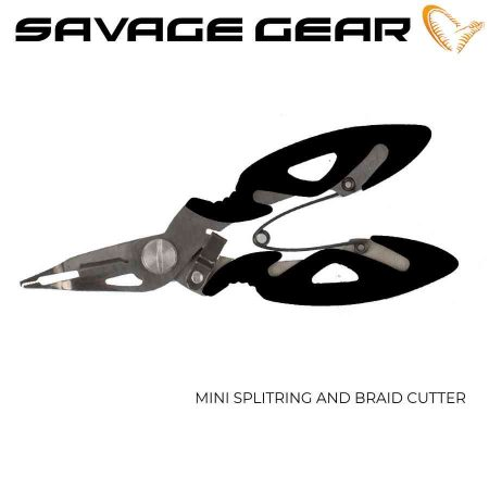 Žirklutės Savage Gear Mini Splitring And Braid Cutter