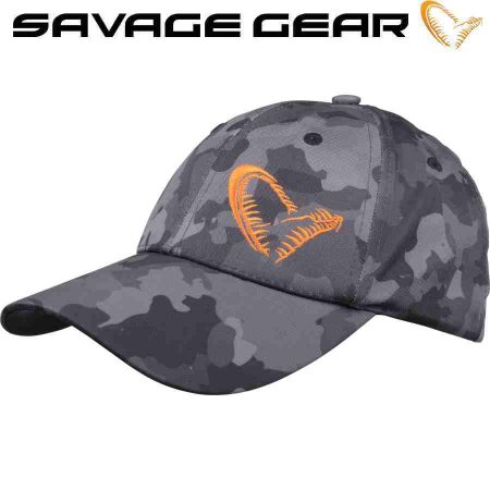 Kepurė Savage Gear Black Savage Cap