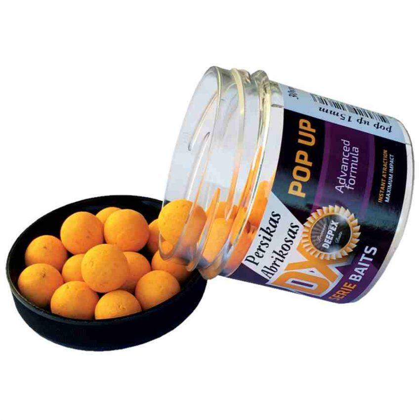 Pop ups kablio masalas persikas-abrikosas 15mm