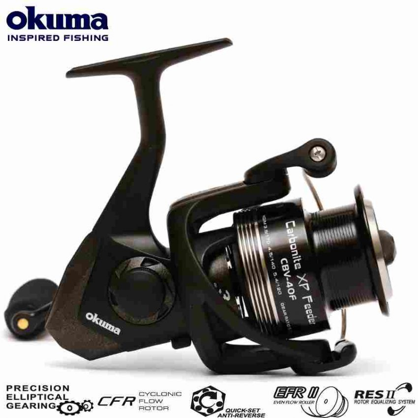 Ritė Okuma Carbonite XP Feeder CBV40 FD