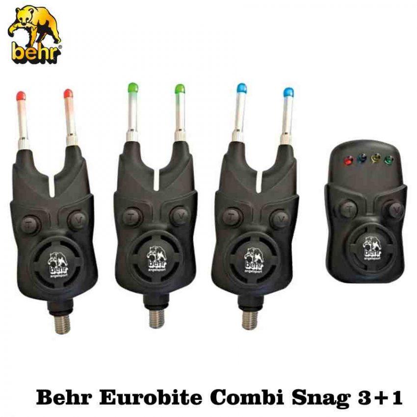 Signalizatorių rinkinys Behr Eurobite Combi Snag 3+1